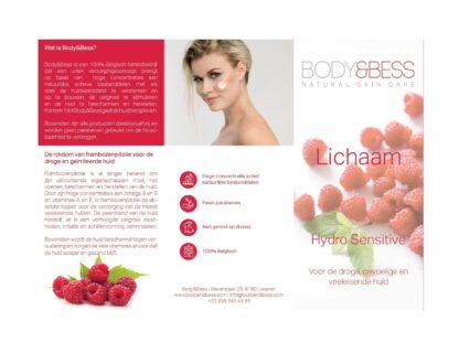 Body&Bess Brochure Hydro Sensitive (gelaat) 1