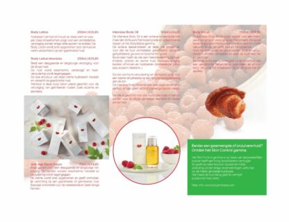 Body&Bess Brochure Hydro Sensitive (lichaam) binnenzijde