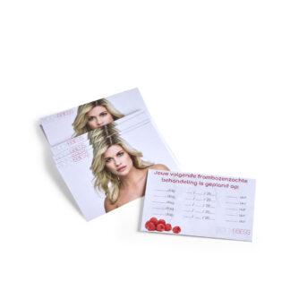Body&Bess afspraak kaartjes