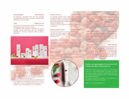Body&Bess Brochure Hydro Sensitive (gelaat) binnenzijde