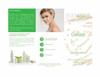 Body&Bess Brochure Skin Control (gelaat) buitenzijde