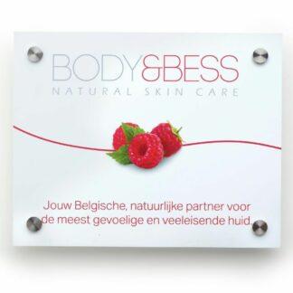 Body&Bess gevelbordje