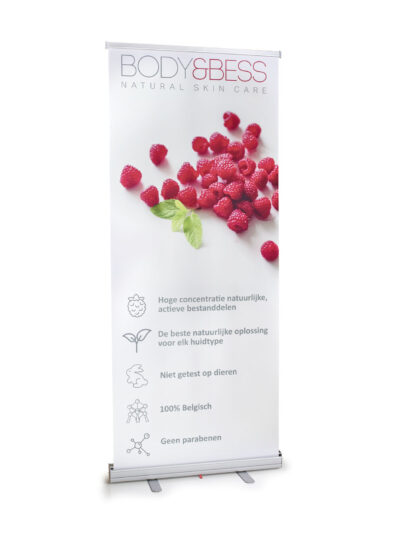 Roll-up banner Body&Bess