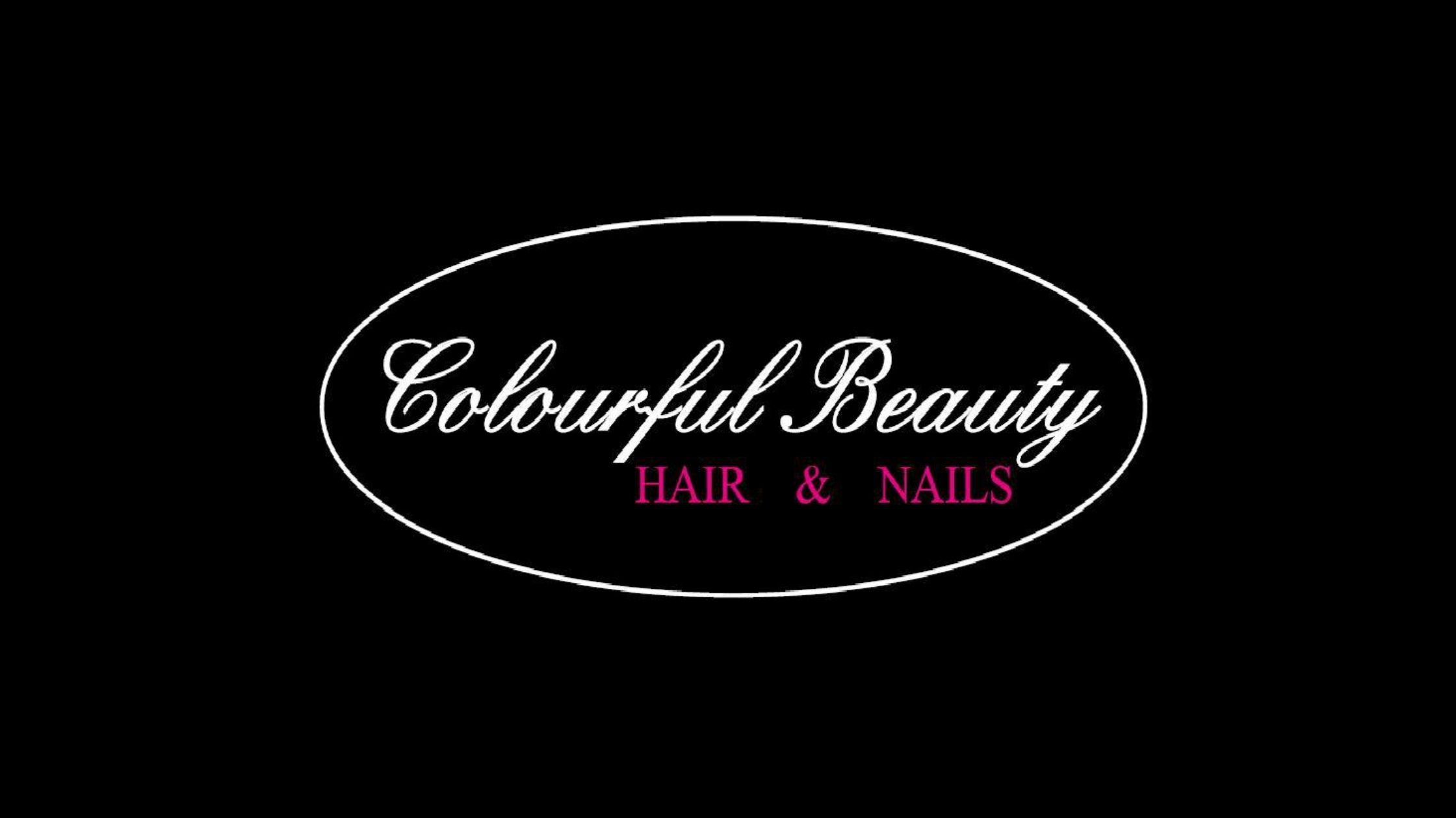 Logo Colourful Beauty Hair & Nails